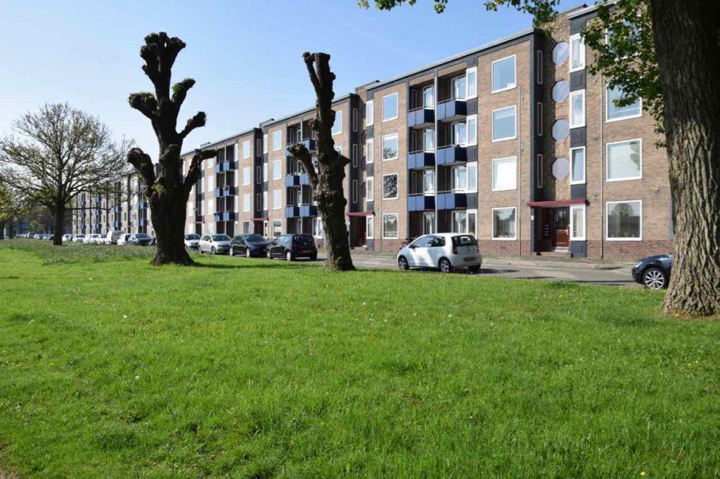 Het laatste en grootste appartementencomplex aan de Florakade