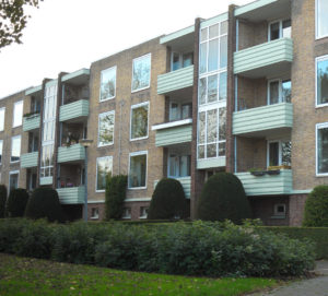 Het 3e appartementencomplex aan de Florakade